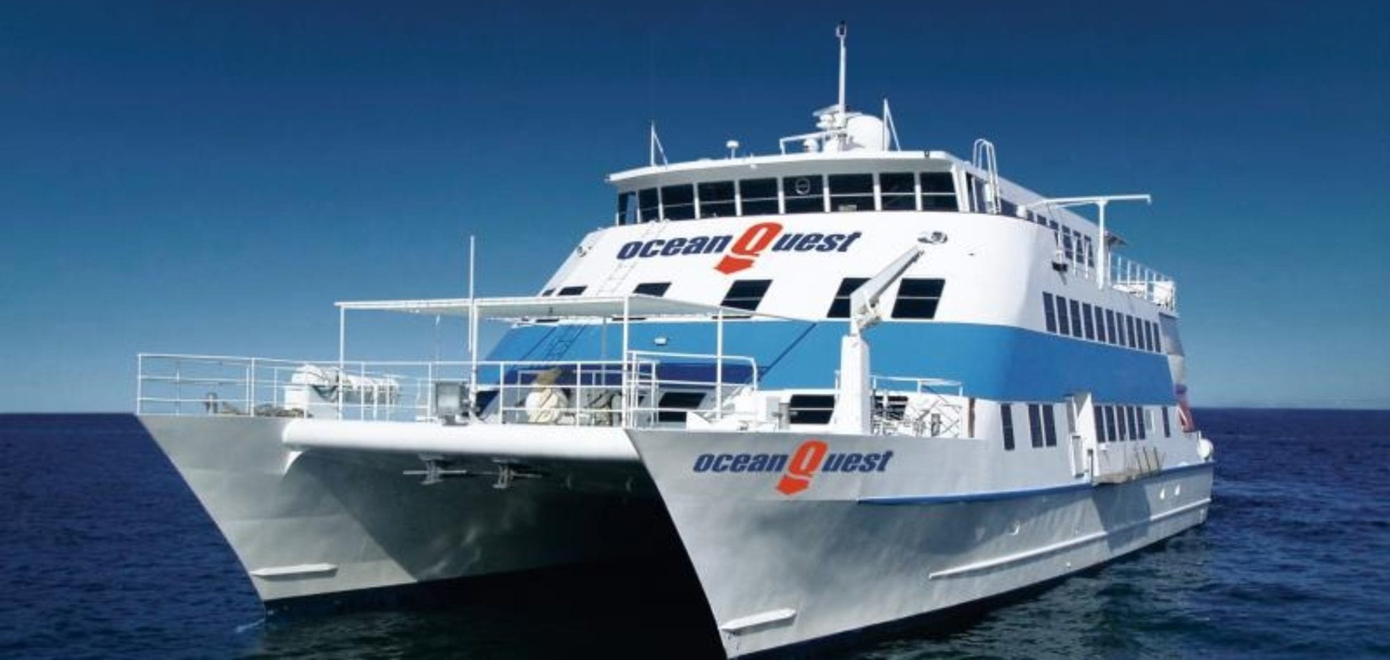 Cairns learn to scuba dive - Oceanquest boat