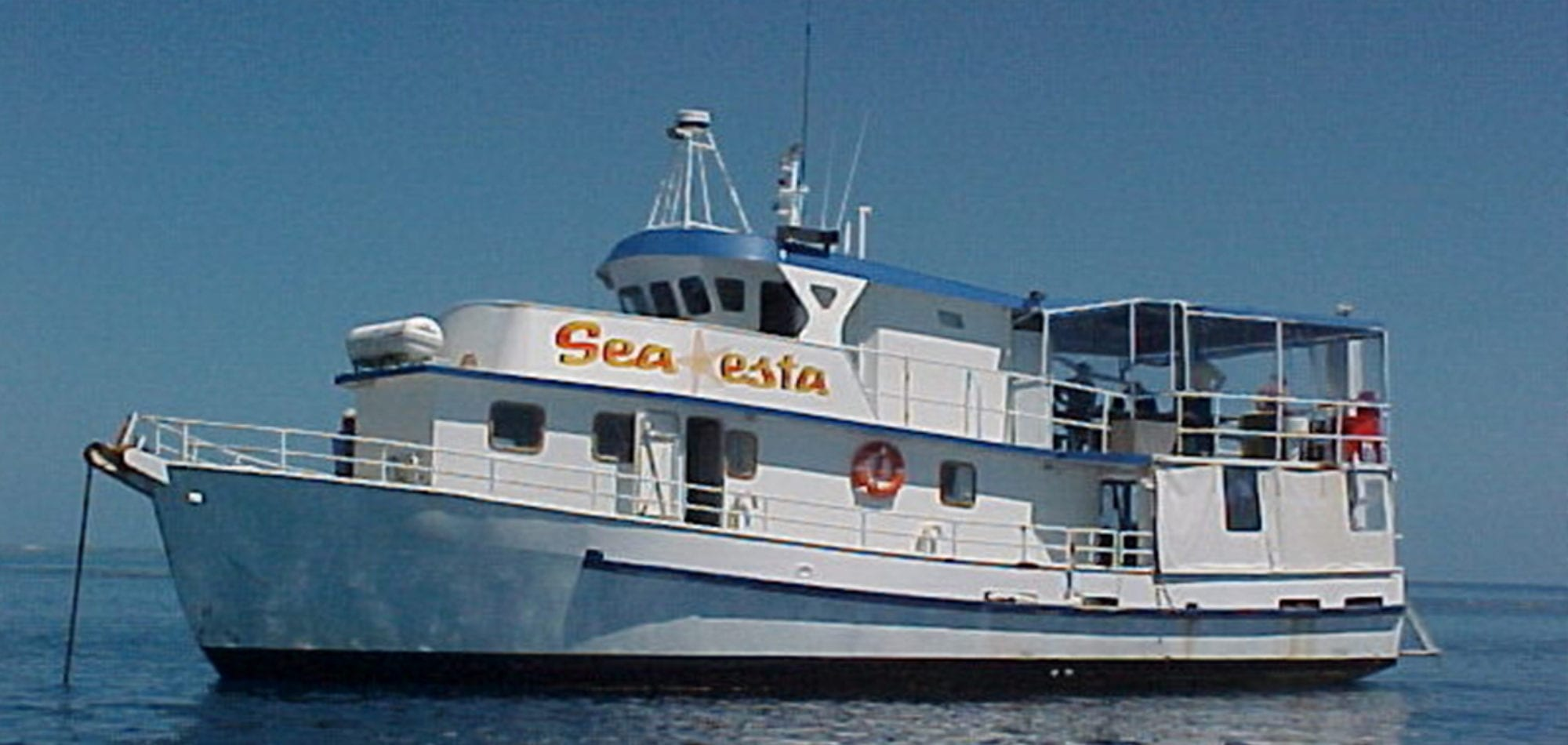 Scuba diving in Australia - Sea Esta livaboard vessel